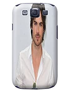 2015 New Waterproof Snowproof fashionable Hard Cool Ian Somerhalder Protection For SamSung Note 2 Case Cover