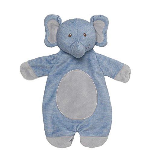 Gund Baby Playful Pals Plush Lovey Baby Blanket Toy, (Baby Gund Elephant)