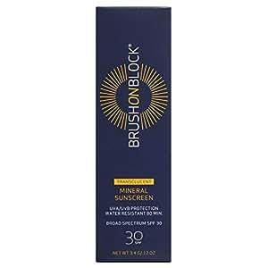 Brush On Block - Mineral Sunscreen Powder, Broad Spectrum SPF 30, Translucent