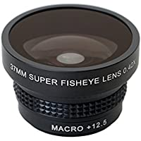 Wide-angle 0.42X fisheye Lens from Phone Paal. 37mm. Superior glass for phone or camera.
