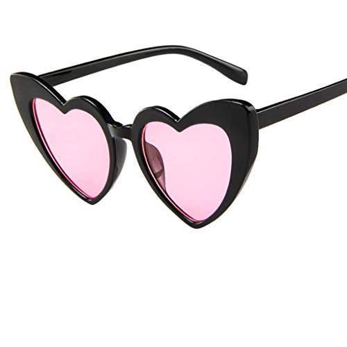 Price comparison product image Alimao 2019 New Pull the wind Polarized Sunglasses For Women,  Mirrored Lens Fashion Goggle Eyewear Pink