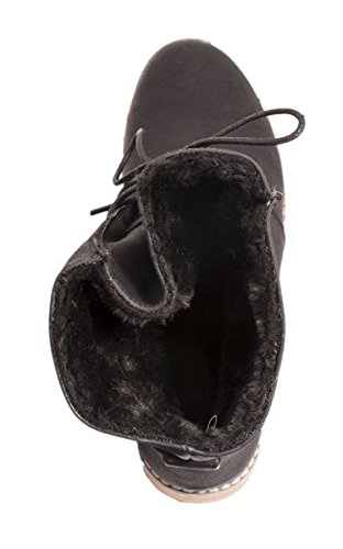 Elara - Botas de Material Sintético para mujer Negro - negro
