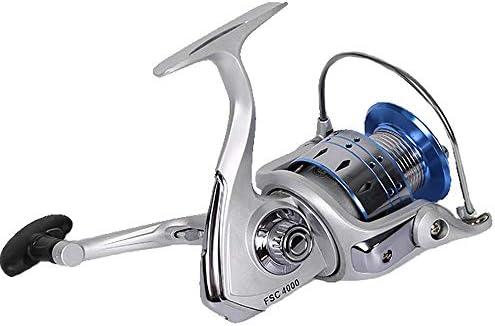 HJT Carrete de Pesca Spinning, de la Marca Carrete de Metal para ...