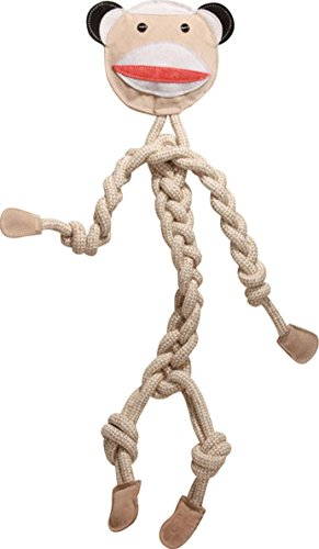 HuggleHounds Durable All Natural Knotties Monkey product image