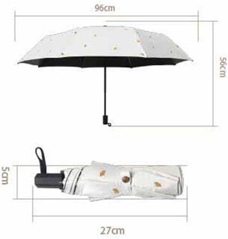 Folding umbrella Telescopic umbrella Sun protection Kaxima Rain umbrella UV protection 56x96cm Vinyl umbrella