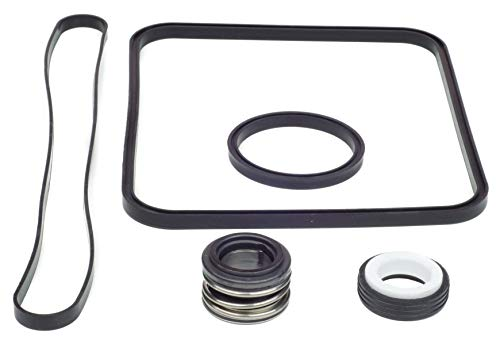 KitKing - Hayward Super Pump Seal O-ring Replacement Go Kit 3. All 3 Gaskets & Shaft Seal. Fits all SP1600, SP2600 in Regular, X, VSP Models. SPX1600TRA SP1600Z2 PS-201 SPX1600R SPX1600S SPX1600T Pool