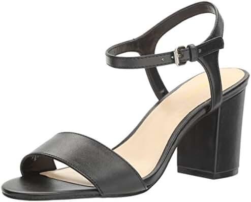 Nine West Women's Gallmeyer Leather Dress Sandal