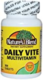 Nature's Blend Daily Vite 100% Daily Value 100 Tablets For Sale