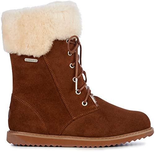 - EMU Australia Shoreline Womens Liner Skin Boot Waterproof Fashion in Oak,9 B(M) US