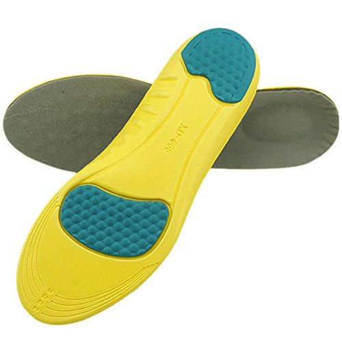 lifewheel Multi-Funktionalität Sports Polsterung Massage Schuh Pads, Herren oder Damen Laufschuhe Atmungsaktiv Stoßdämpfer Einlagen 2 Pairs
