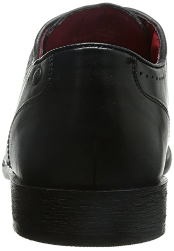 Base London Cayenne - Zapatos de cordones Hombre Waxy Black