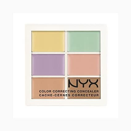 NYX Conceal Correct Contour Palette 3CP04 Correcting (0.05 Oz)