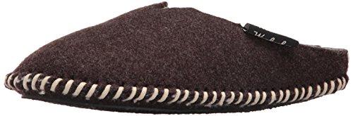 Woolrich Men's Classic Felt Mill Scuff Slipper,Java,8 US/M(8-9) M US