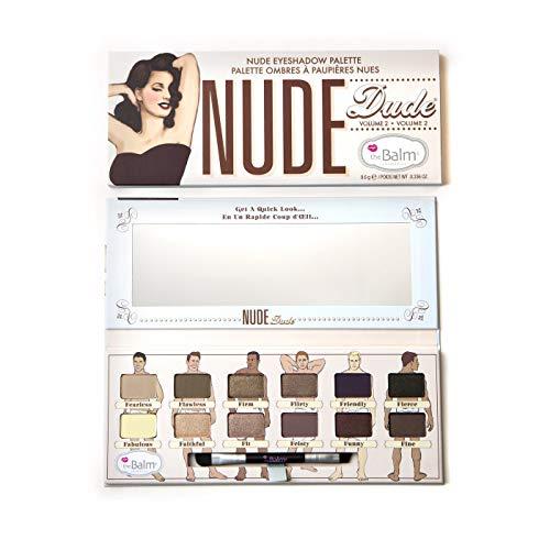 (Nude Dude Eyeshadow Palette, 12 Triple-Milled Shades)