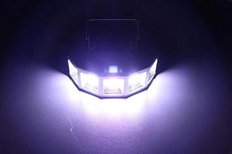 Stage Strobe Flash LED Light 100W 5 LEDs DMX512 Control for Club Disco Party DJ Dancing Show Concert Xmas Halloween Birthdays Wedding Bars Lighting White