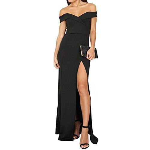 prom dress leg split - 4