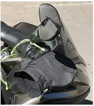 pour Peugeot Metropolis 400 Manchons Thermique OJ C011 Micro Pro Hand Mains UNIVERSELLES pour Scooters DE Motocyclette Couverts DE Tissu avec Padding