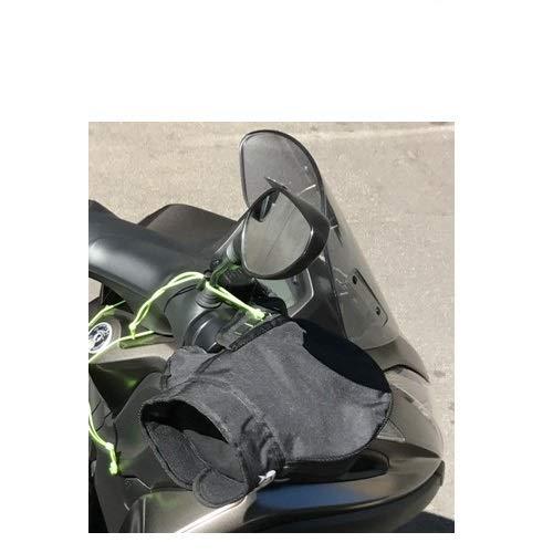 pour Piaggio X10 500 Executive Manchons Thermique OJ C011 Micro Pro Hand Mains UNIVERSELLES pour Scooters DE Motocyclette Couverts DE Tissu avec Padding