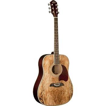 Oscar Schmidt OG2SM   Acoustic Guitar - Spalted Maple