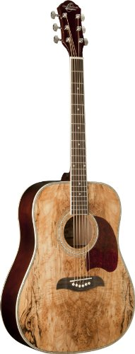 Oscar Schmidt OG2SM   Acoustic Guitar - Spalted Maple