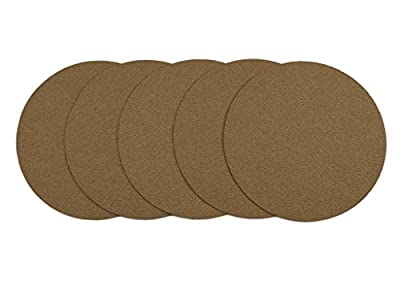 6-Inch No Hole Hook and Loop Dustless Sanding Disc For Dual Action Air Sander Random Orbital sander