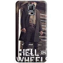 New Arrival Shock Absorbing Style Hell on Wheels Phone Carrying Covers Samsung Galaxy Note 4