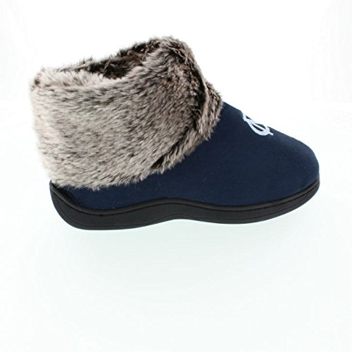 Happy NCAA Sheepskin Faux Womens College North Slipper Carolina Top Feet Fur Tarheels Boots qEIrXE