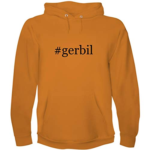The Town Butler #Gerbil - Men's Hoodie Sweatshirt, Gold, X-Large