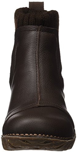 Femme Soft Bottes Brown Chelsea Naturalista Marron El Yggdrasil Grain Ne23 Ew0xOXq