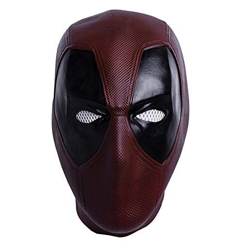 DP Mask Deluxe Full Head Latex Movie Helmet Cosplay Costume Adult Accessory Type C]()