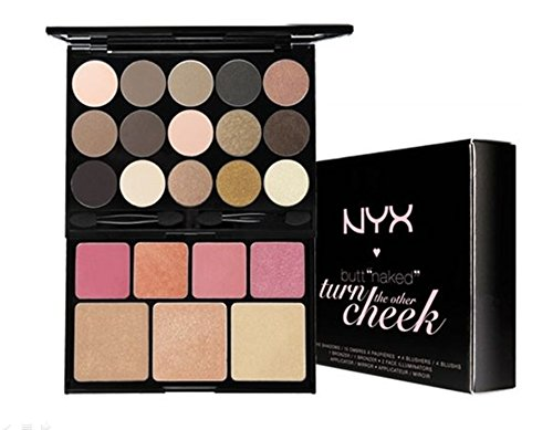 NYX Butt Naked Turn The Other Cheek Collection Palette Set S132 New In Box **BCS_INPF** (Nyx Turn The Other Cheek Palette)