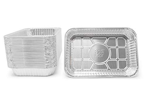 Fig & Leaf (30 Pack) Weber Grills Compatible 6416 Drip Pans l Size 13