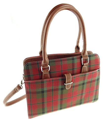 Tartan Tartan Macnaughton Handbag Ladies In Strap Shoulder TB7009 4 With Available aqdxRC8x