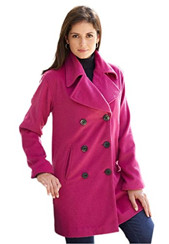 Jessica Double Breasted Peacoat - 8