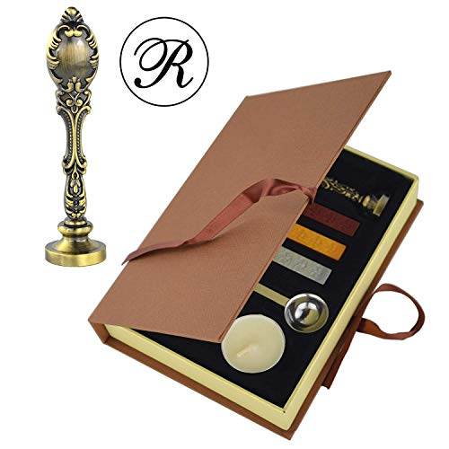 Do4U Wax Seal Stamp kit Vintage Classic Old-Fashioned, used for sale  Delivered anywhere in USA