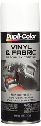 (Dupli-Color EHVP10500 Gloss White High Performance Vinyl and Fabric Spray - 11 oz.)