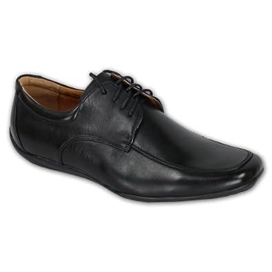 Chaussure de cuir synthétique hommes Mocassin chaussures habillées - Noir Vyef4W