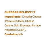 Moon Cheese, Cheddar believe it, 100% Cheddar