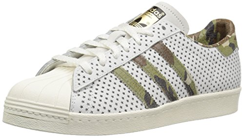 adidas Originals Men's Superstar 80s Running Shoe VINWHT,Supcol,Owhite 11 Medium US