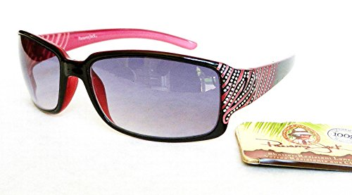 Panama Jack Womens Rhinestone Accent Sunglasses (1357)- Bonus Cleaning - Polarized Panama Sunglasses Jack