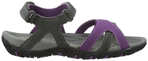 Gola Women's Cedar Fitness Shoes Grey (Grey/Purple) KKZamBaSY
