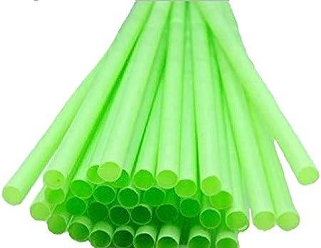 250 pajitas ecologicas biodegradables sin plastico, almidon de maiz organicas 23 cm x 6 mm