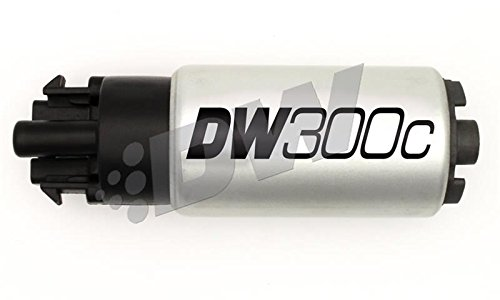 DeatschWerks 340lph DW300C Compact Fuel Pump w// 08-14 WRX// 08-15 STI Set Up Kit 9-309-1008 w// Mounting Clips