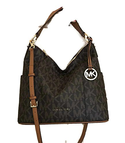 Couture Watch Brown Strap (Michael Kors Anita Large Convertible Shoulder Bag)