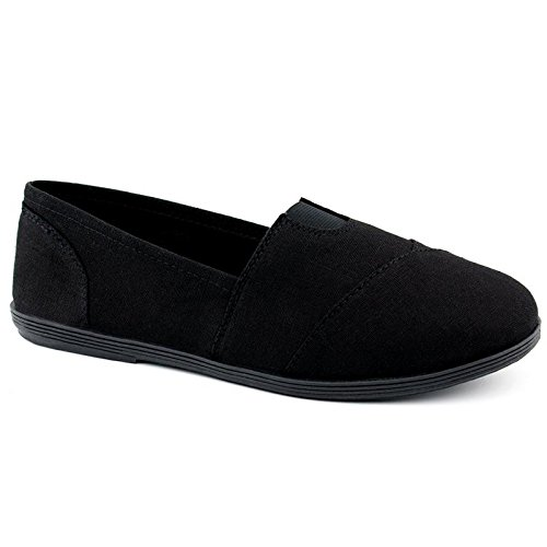 SODA Women Object Flats-Shoes,10 B(M) US,Premium Black/Black (Best Las Vegas Hookers)