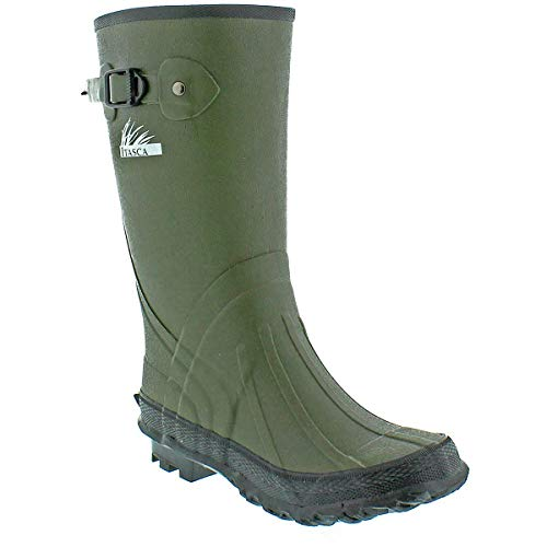 Itasca Womens Boots (Itasca Boys SWAMPWALKER Classic Boots Green Size 6)