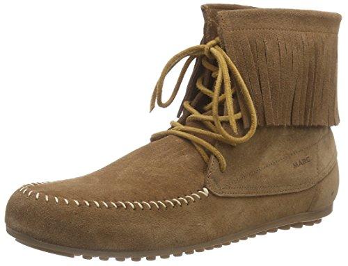 Marc Shoes Damen Luna Mokassin Stiefel Braun (cognac 360)