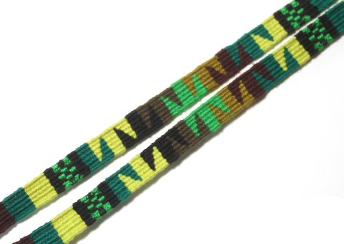 DeSuave Santa Fe Eyeglass Cord (Green) by DE SUAVE