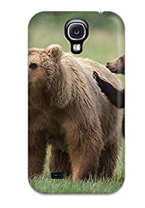 Pretty HdaMMSw7036RwTWE Galaxy S4 Case Cover/ Grizzly Bears Series High Quality Case