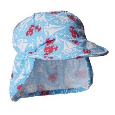 Flap Happy Baby Boys' Boys' UPF 50+ Swim Flap Hats, Somersault Sails, Medium by Flap Happy